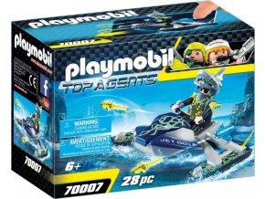 PLAYMOBIL® 70007 Team S.H.A.R.K. Raketový skútr