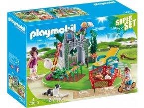 PLAYMOBIL® 70010 Rodinná zahrada, Superset