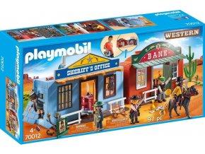 PLAYMOBIL® 70012 Westernové město