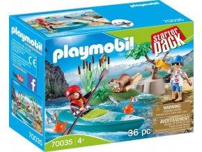 PLAYMOBIL® 70035 Trénink kánoisty