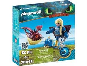 PLAYMOBIL® 70041 Dragons Astrid v létacím plášti a Trnožrout