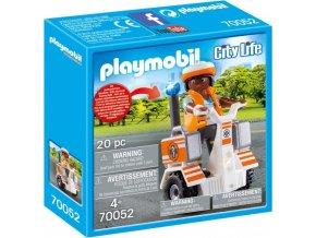 PLAYMOBIL® 70052 Záchranářský segway