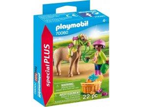 PLAYMOBIL® 70060 Dívka s poníkem