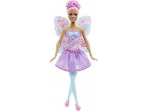 Barbie VÍLA fialová