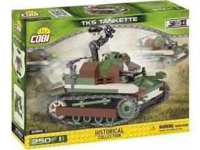 COBI 2383 Malá armáda WWII Lehký tank