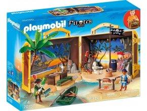PLAYMOBIL® 70150 Pirátský ostrov přenosný hrací set