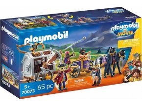 PLAYMOBIL 70073 THE MOVIE Charlie s vězeňským vozem