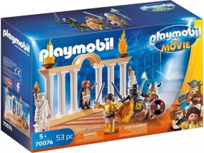 PLAYMOBIL 70076 THE MOVIE Císař Maximus v Koloseu