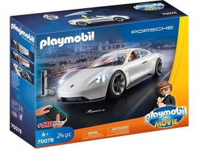 PLAYMOBIL 70078 THE MOVIE Porsche Mission E Rexe Dashera