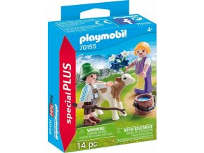 PLAYMOBIL® 70155 Děti s telátkem