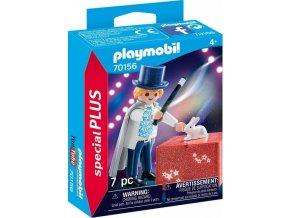 PLAYMOBIL 70156 Kouzelník s kouzelnou bednou