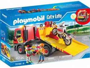 playmobil 70199 city life odtahova sluzba s motorkou original