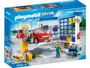 playmobil 70202 city life autodilna 01