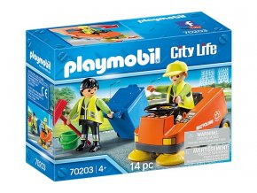 PLAYMOBIL 70203 zametaci stroj