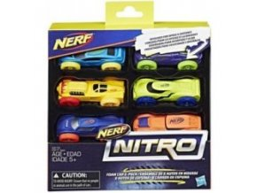 nerf nitro 6 pack auticka