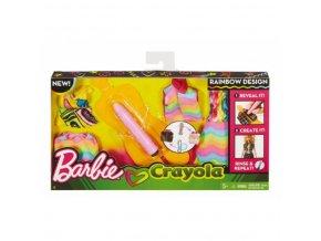 barbie crayola magicka tuzka ruzova