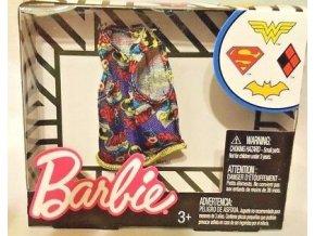 barbie top pro panenku batgirl obleceni tricko