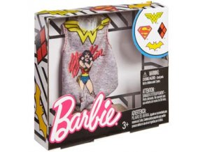 barbie top pro panenku supergirl obleceni tricko wonder woman 1