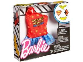 barbie top pro panenku supergirl obleceni tricko wonder woman