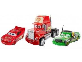 cars3 set 3 aut blesk mcqueen mack chick hicks fbr77 fbg38 01