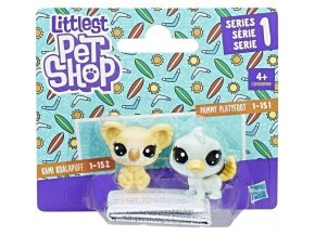 littlest pet shop lps set zviratek 2 ks koala 152 a ptakopysk 151