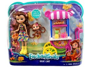 enchantimals fruit cart