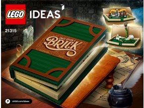 lego 21315 vyklapeci kniha ideas book