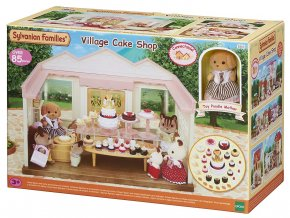 sylvanian families village cake shop cukrarna