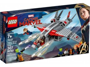 LEGO Super Heroes 76127 Kapitánka Marvel a útok Skrullů