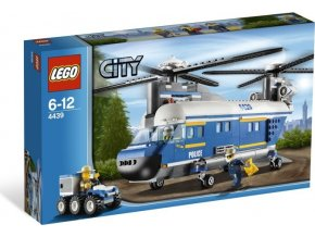 LEGO CITY 4439 Robustní policejní helikoptéra