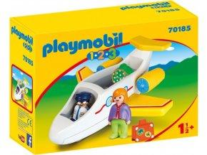 PLAYMOBIL® 70185 Dopravní letadlo (1.2.3)