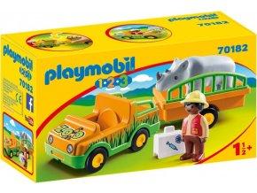 PLAYMOBIL® 70182 Převoz nosorožce (1.2.3)