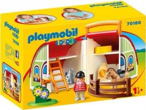 PLAYMOBIL® 70180 Moje první přenosná farma (1.2.3)