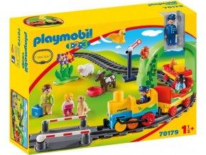 PLAYMOBIL® 70179 Moje první vláčkodráha (1.2.3)