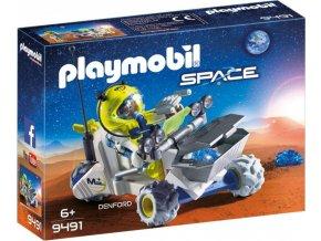 Playmobil 9491 Vesmírná tříkolka na Marsu