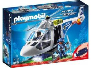 Playmobil 6874 Policejní vrtulník s reflektorem