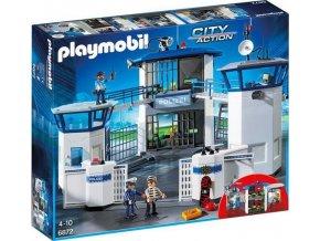 Playmobil 6872 Policejní centrála s vězením