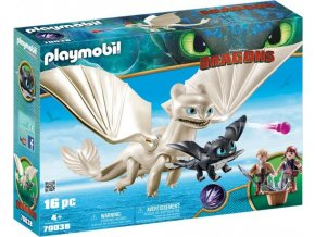 Playmobil 70038 Dragons Bílá Běska