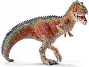 Schleich 14543 Prehistorické zvířátko - Giganotosaurus oranžový s pohyblivou čelistí