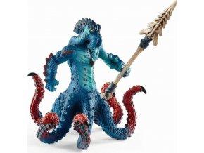 Schleich 42449 Chobotnice monstrum se zbraní