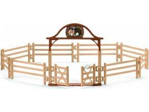 Schleich 42434 Ohrada pro koně se vstupní branou