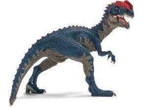 Schleich 14567 Dilophosaurus s pohyblivou dolní čelistí