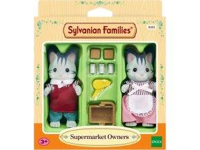 Sylvanian Families 5052 Majitelé Supermarketu