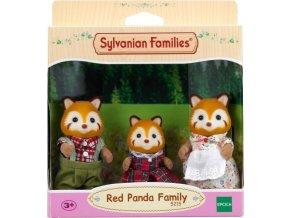 Sylvanian Families 5215 Rodina Červené pandy
