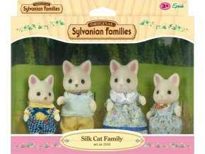 Sylvanian Families 4175 Rodina hedvábných koček