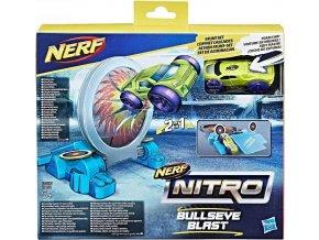 NERF Nitro Náhradní autíčko dvojitá akce Bullseye Blast