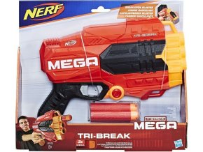 NERF Elite MEGA Tri Break Pistole