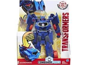 Transformers RiD Soundwave transformace ve 3 krocích