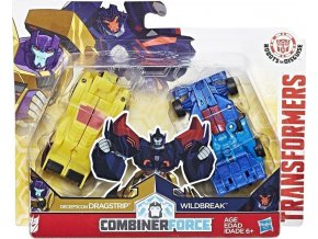 Transformers RID Kombinátor Decepticon Dragstrip a Wildbreak