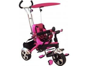 Dětská tříkolka Baby Mix pink